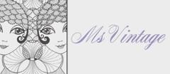 Ms Vintage Clothing Vintage logo