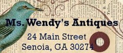 Ms. Wendy's Antiques logo