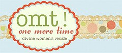 omt! One More Time Womens Consignment logo