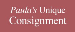 Paula's Unique Consignment logo
