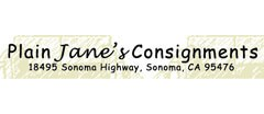 Plain Jain's Consignments Furniture Consignment shop