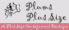 Plums Plus Size Consignment Boutique Womens Consignment shop
