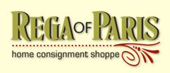 Rega of Paris Home Consignment Shoppe logo