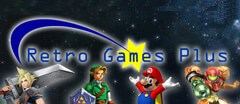Retro Games Plus logo