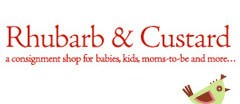 Rhubarb & Custard Childrens Consignment logo