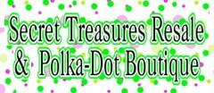 Secret Treasures Resale & Polka-Dot Boutique Childrens Consignment logo