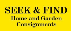 Seek and Find Consignments Furniture Consignment shop