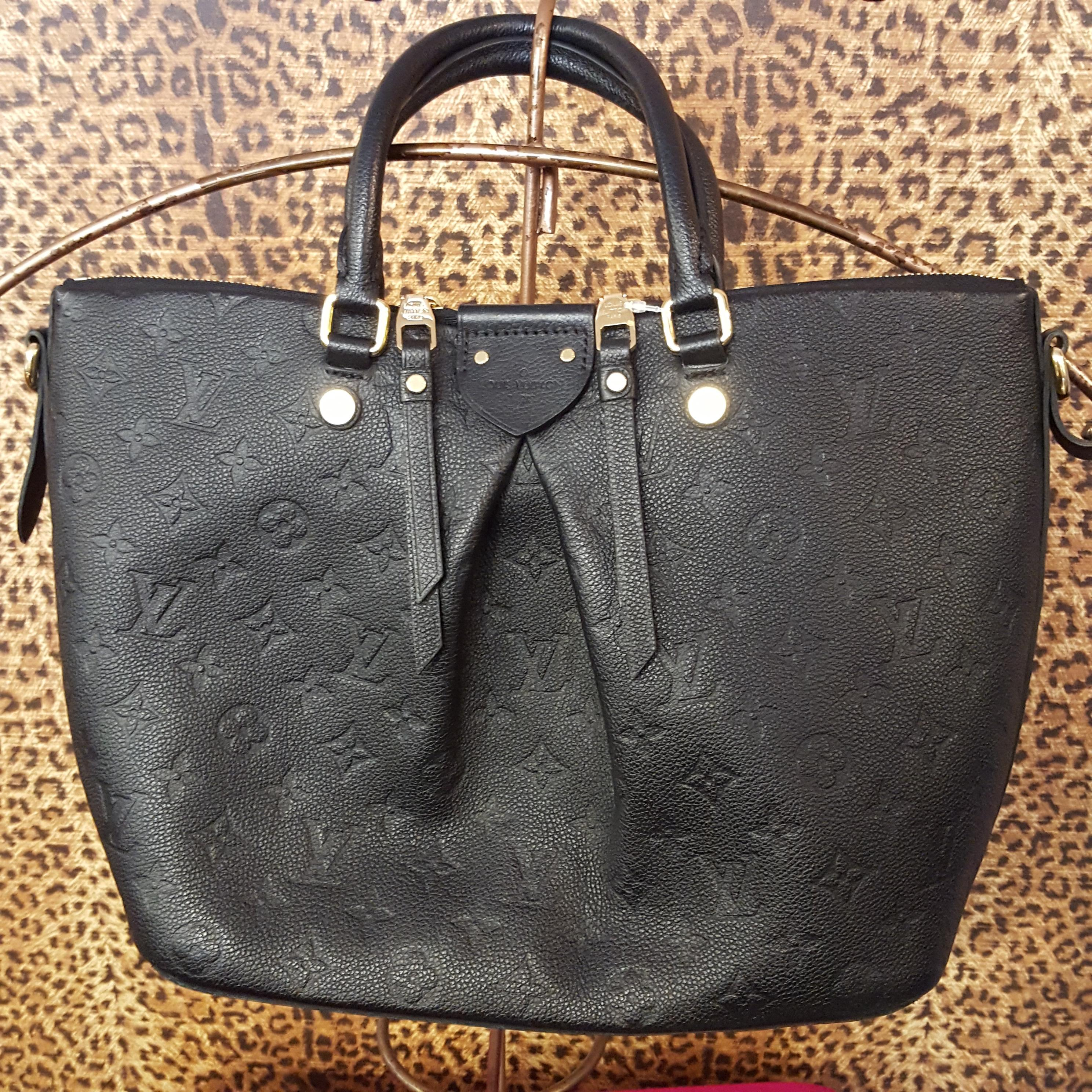 Louis Vuitton~ Leather, Black, Purses, Handbags Price: $2244.74