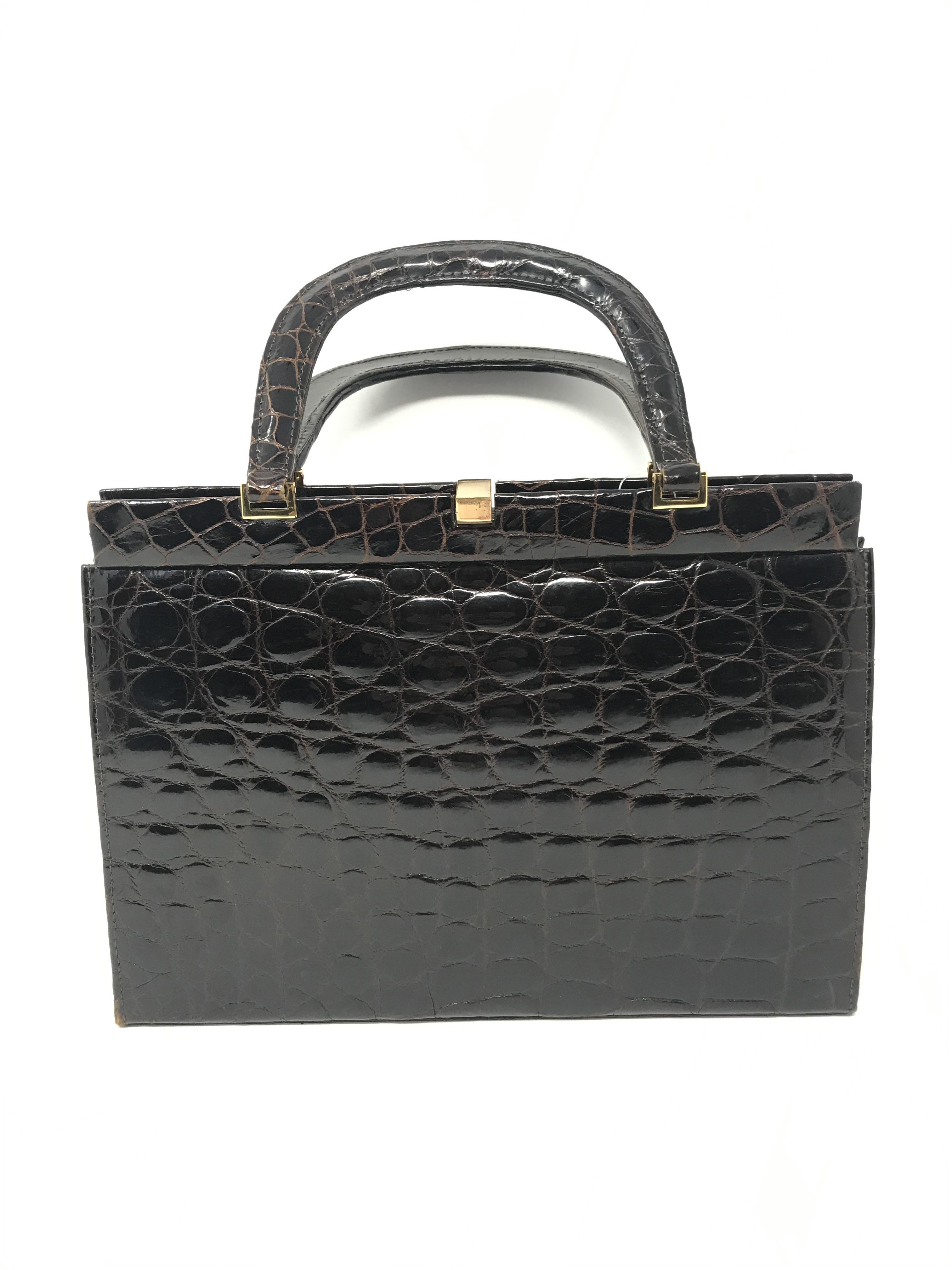 Vintage croc Purses, Handbags Price: $267.99