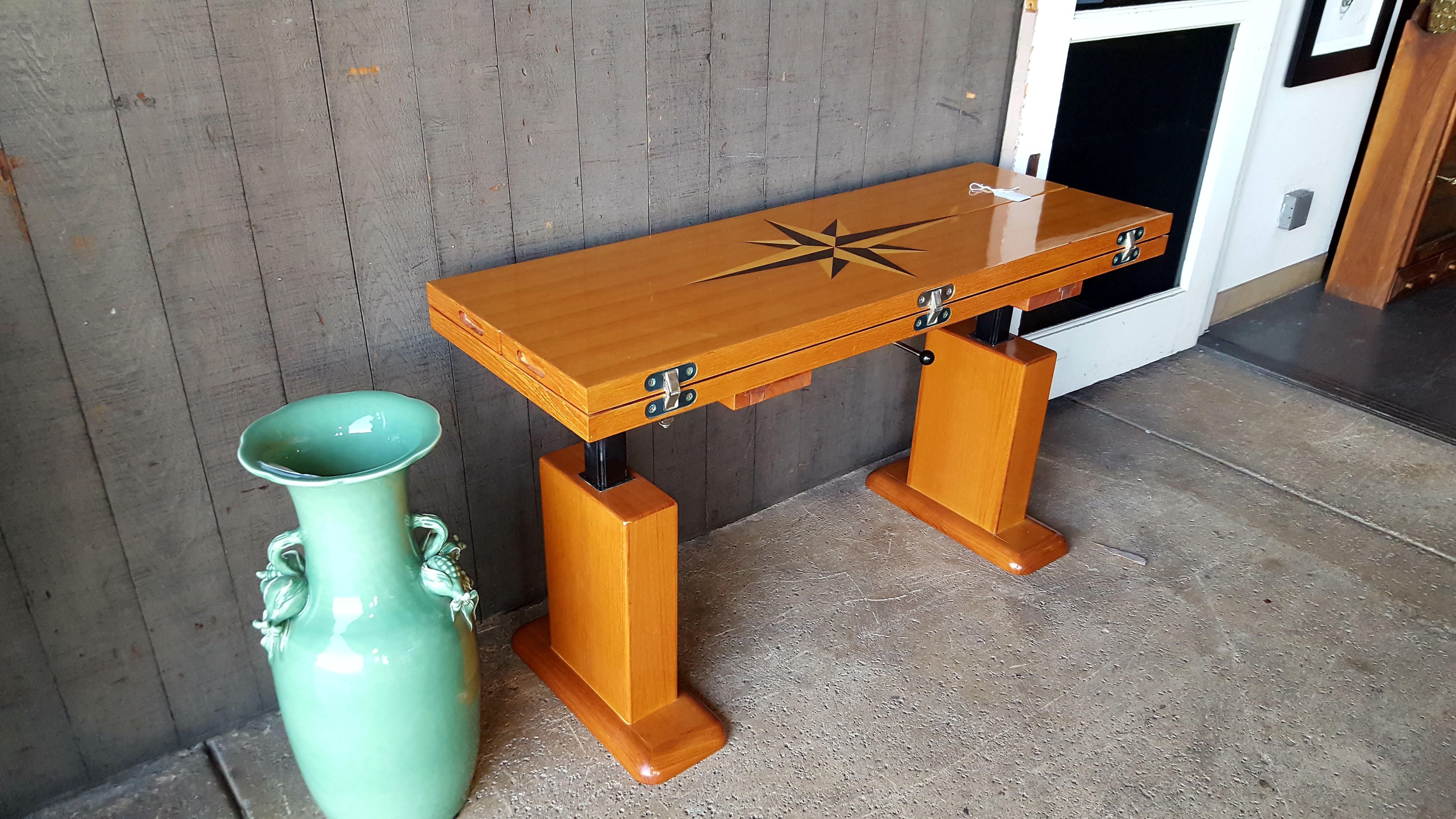 Stunning hand made High-Low Yacht Tables, Desks, Stands Price: $875.00