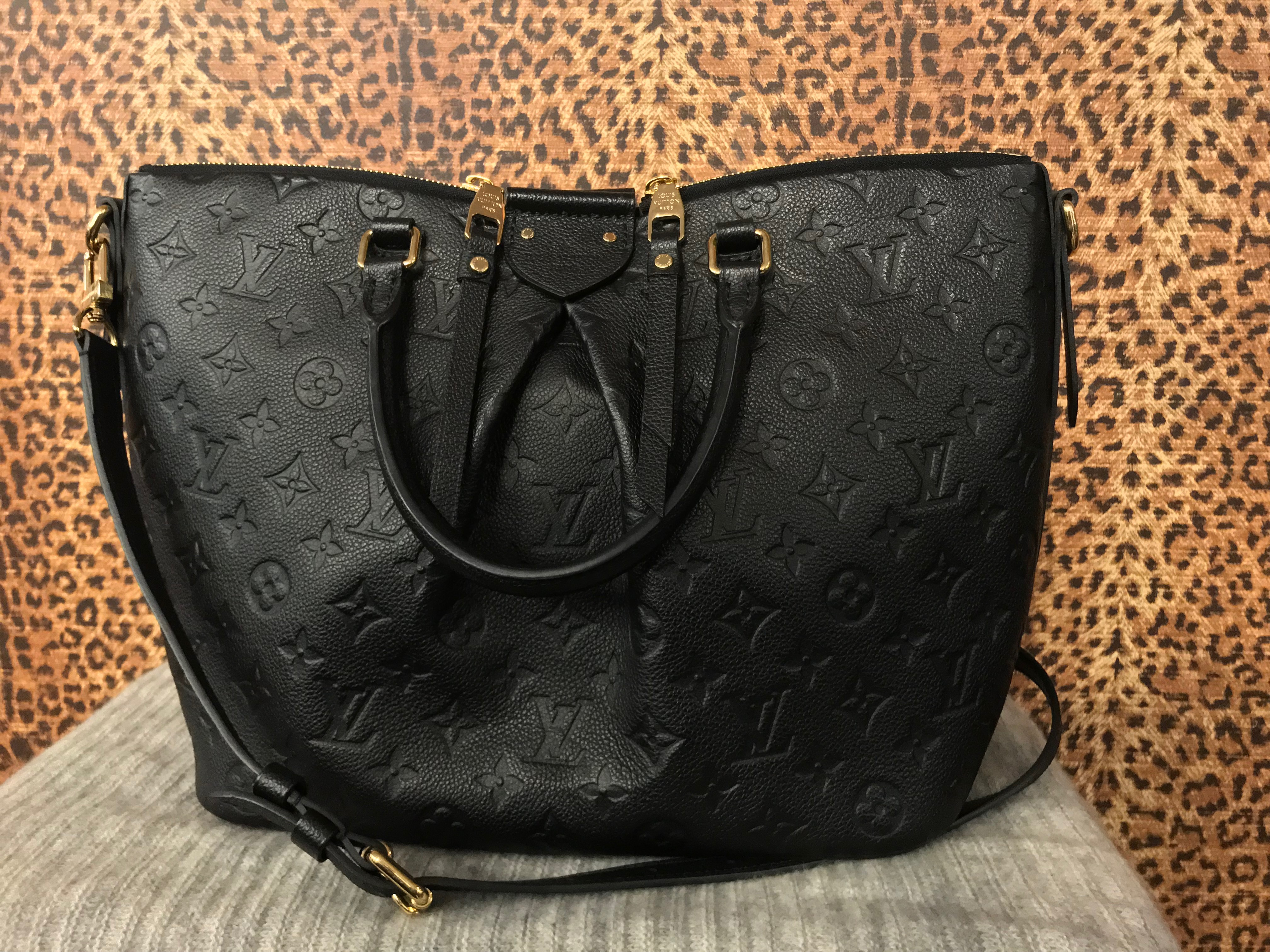 SOLD! Louis Vuitton~ Black, Leather, Purses, Handbags Price: $2325.71
