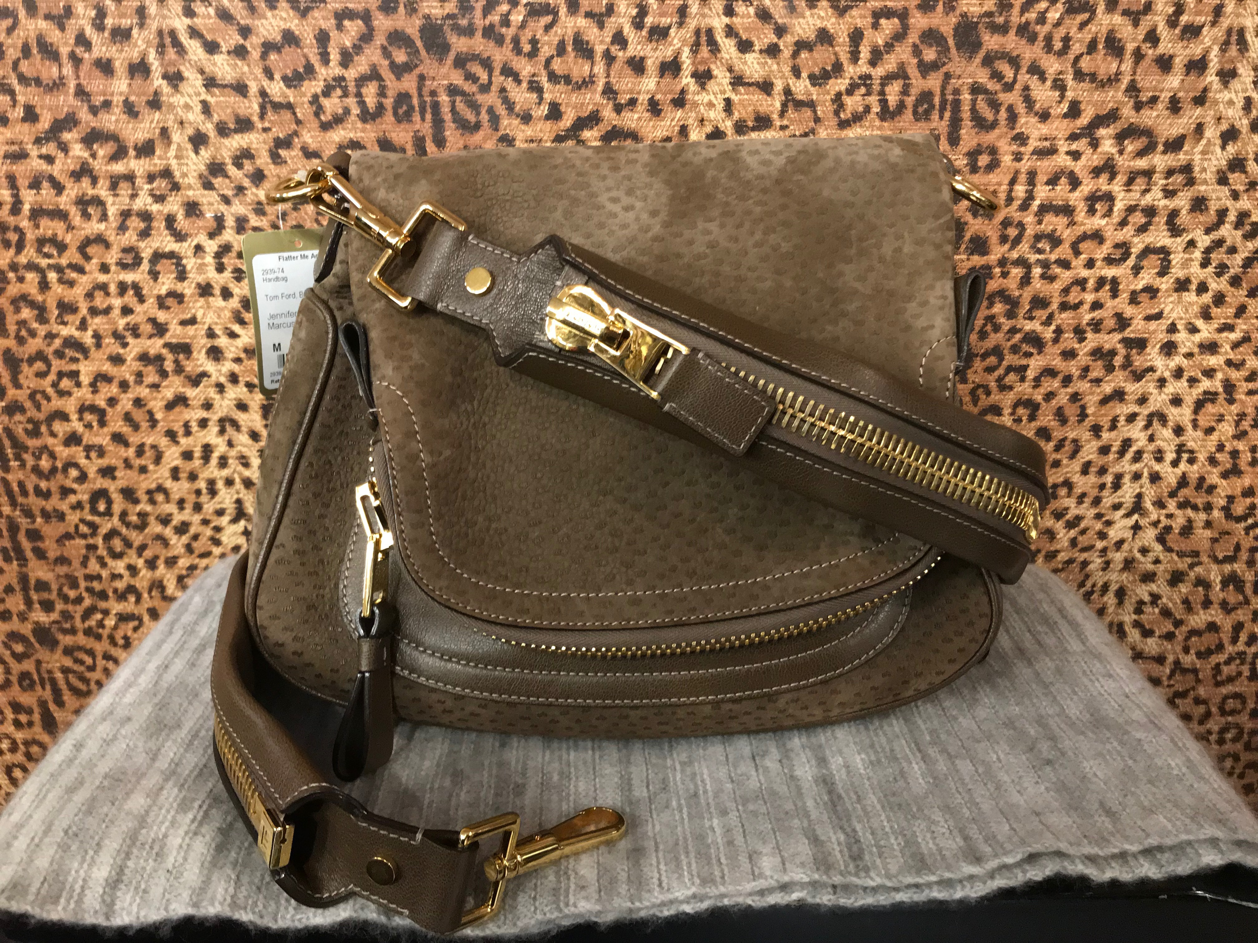 Tom Ford~ Brown, Suede, Jennifer Purses, Handbags Price: $1008.36