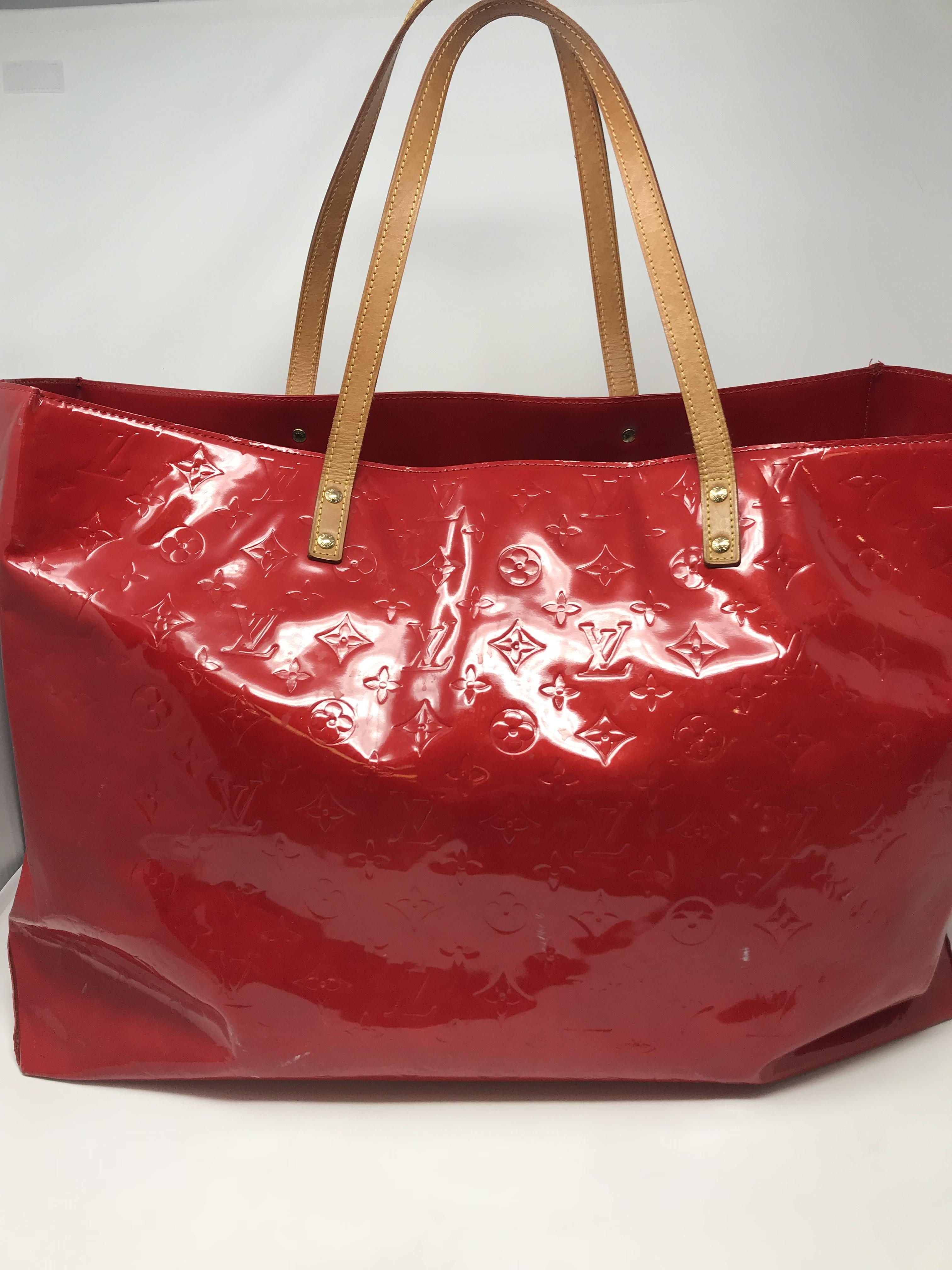 Louis Vuitton red Purses, Handbags Price: $696.99