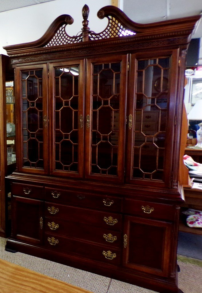 Hutch-China cabinet, solid Cabinets, Hutches Price: $395.00