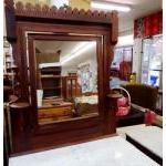 Dresser with mirror, mahogany, antique For Sale