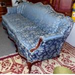 Sofa-French Louis XV antique sofa For Sale
