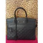 Louis Vuitton~ Black, Emprente Leather, Tote. For Sale