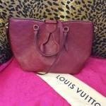 Louis Vuitton~ Empreinte, Leather, Crossbody, Dbl Handle. For Sale