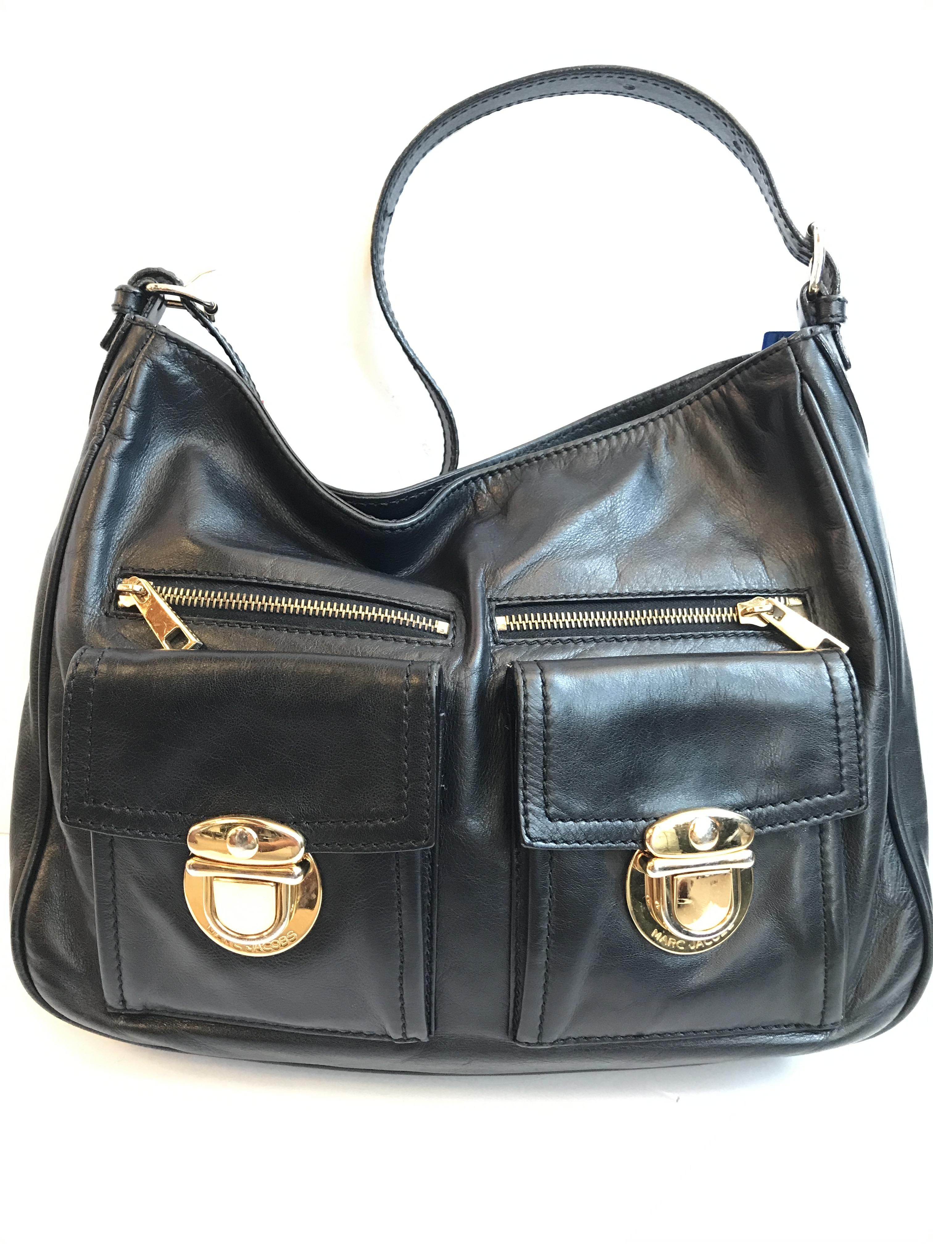 Marc jacobs black with Purses, Handbags Price: $299.99