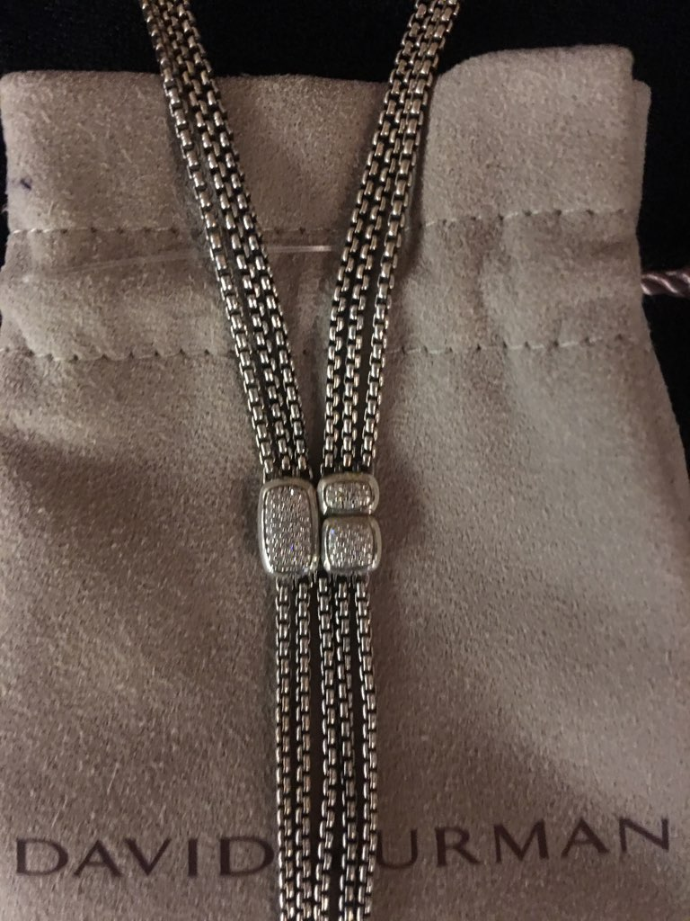 David Yurman~ Necklace, Sterling Necklaces, Pendants Price: $956.86