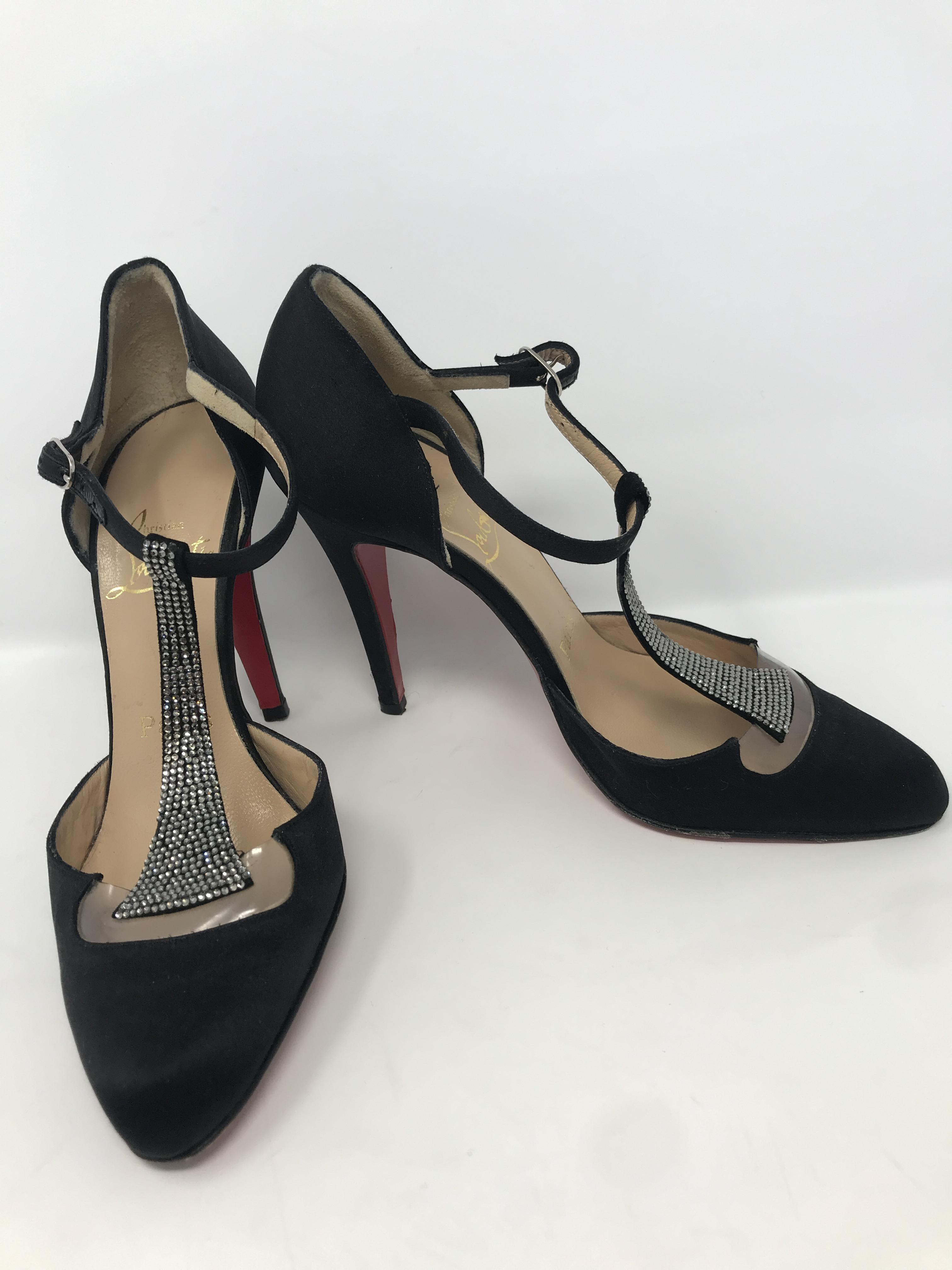 Louboutin black Shoes Price: $298.99