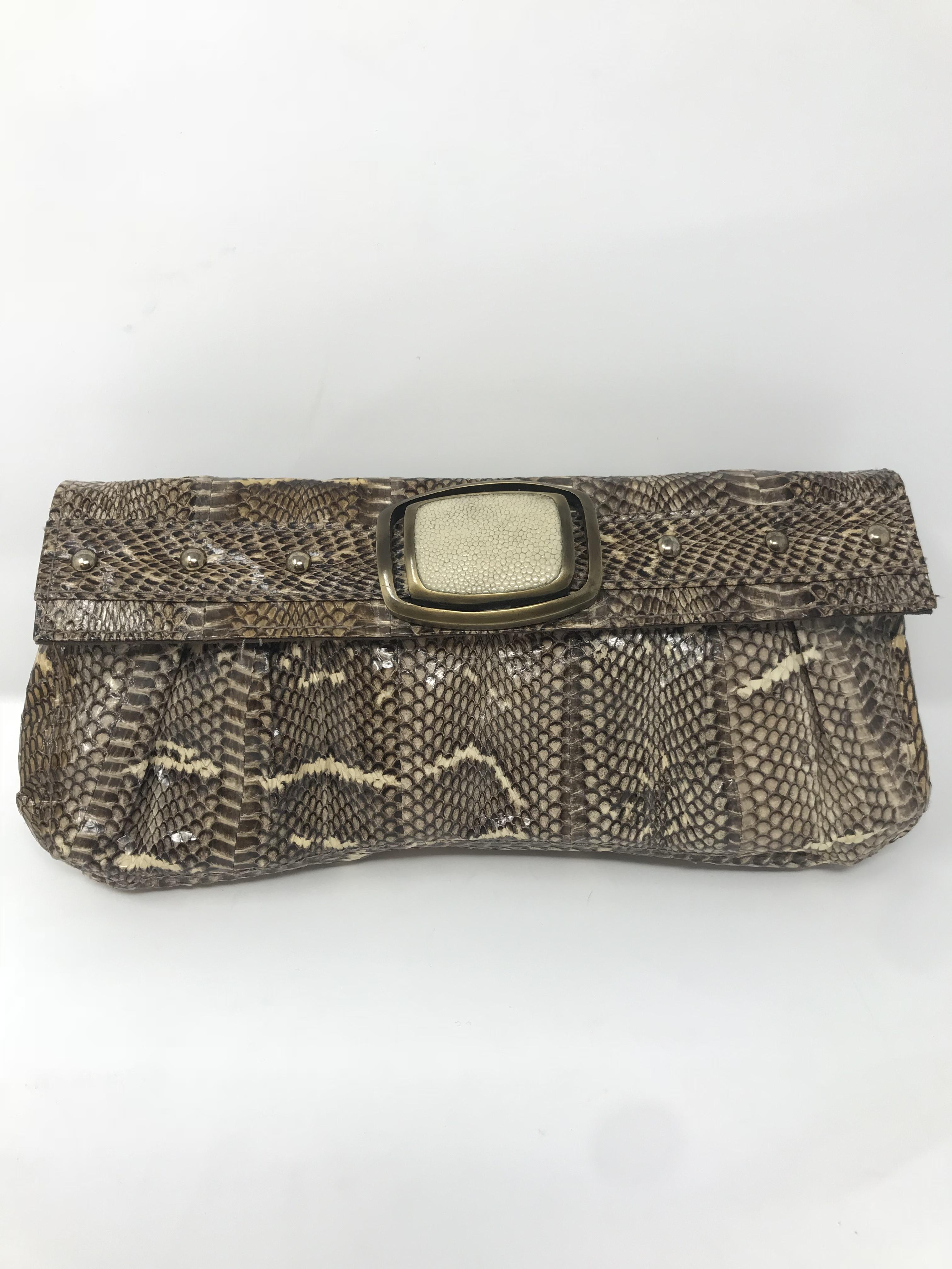R&Y Augousti reptile Purses, Handbags Price: $126.99