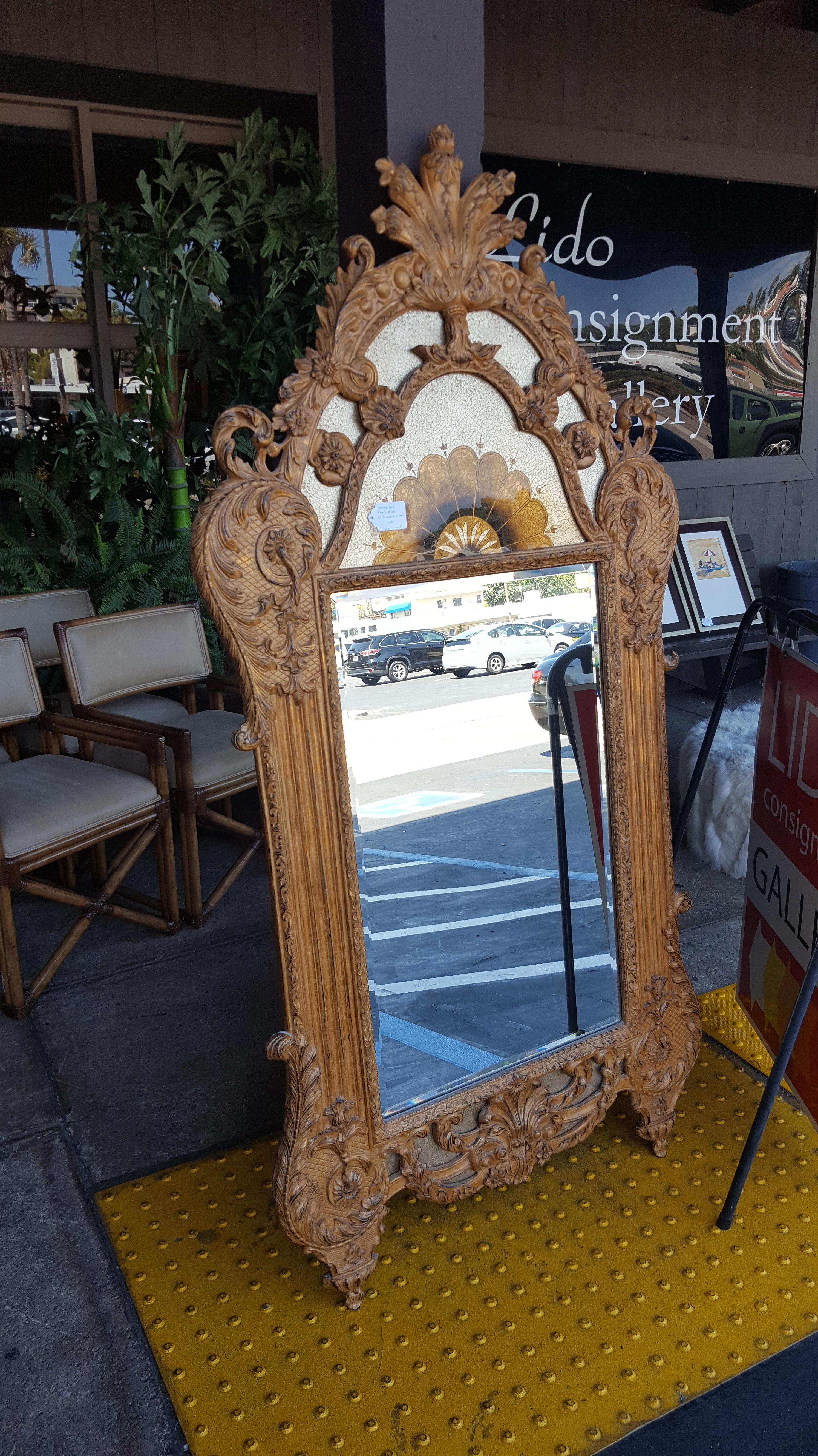 Stunning gold leaf ornate Neo Classical Artwork, Mirrors Price: $800.00