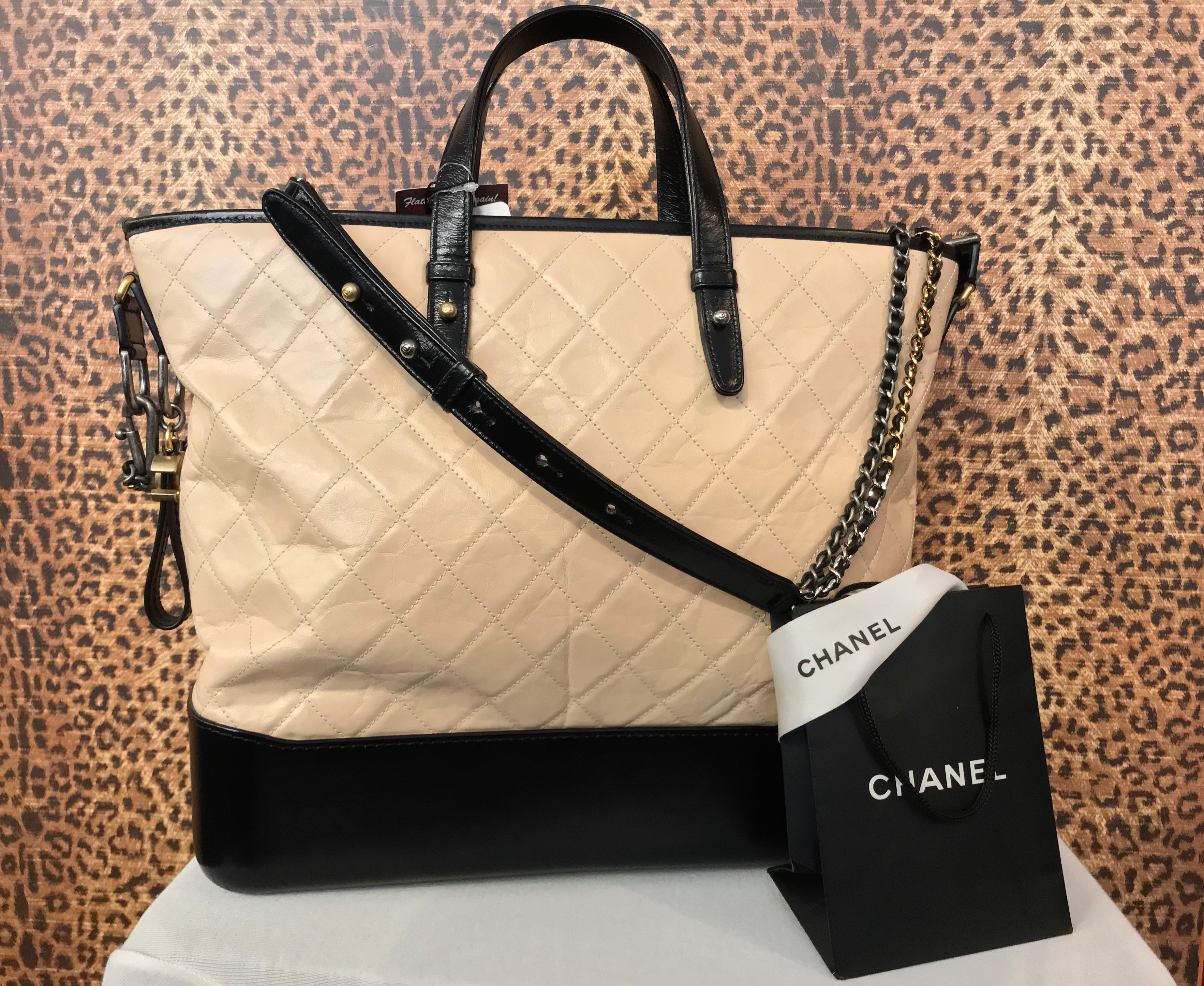 Chanel~ Nude, Quilted Leather, 2018, Purses, Handbags Price: $3647.95