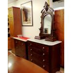 Eastlake Gentleman's Dresser with mirror For Sale