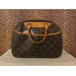 Louis Vuitton~ Monogram, Deuville Make Up Bag, Dbl Handle. For Sale