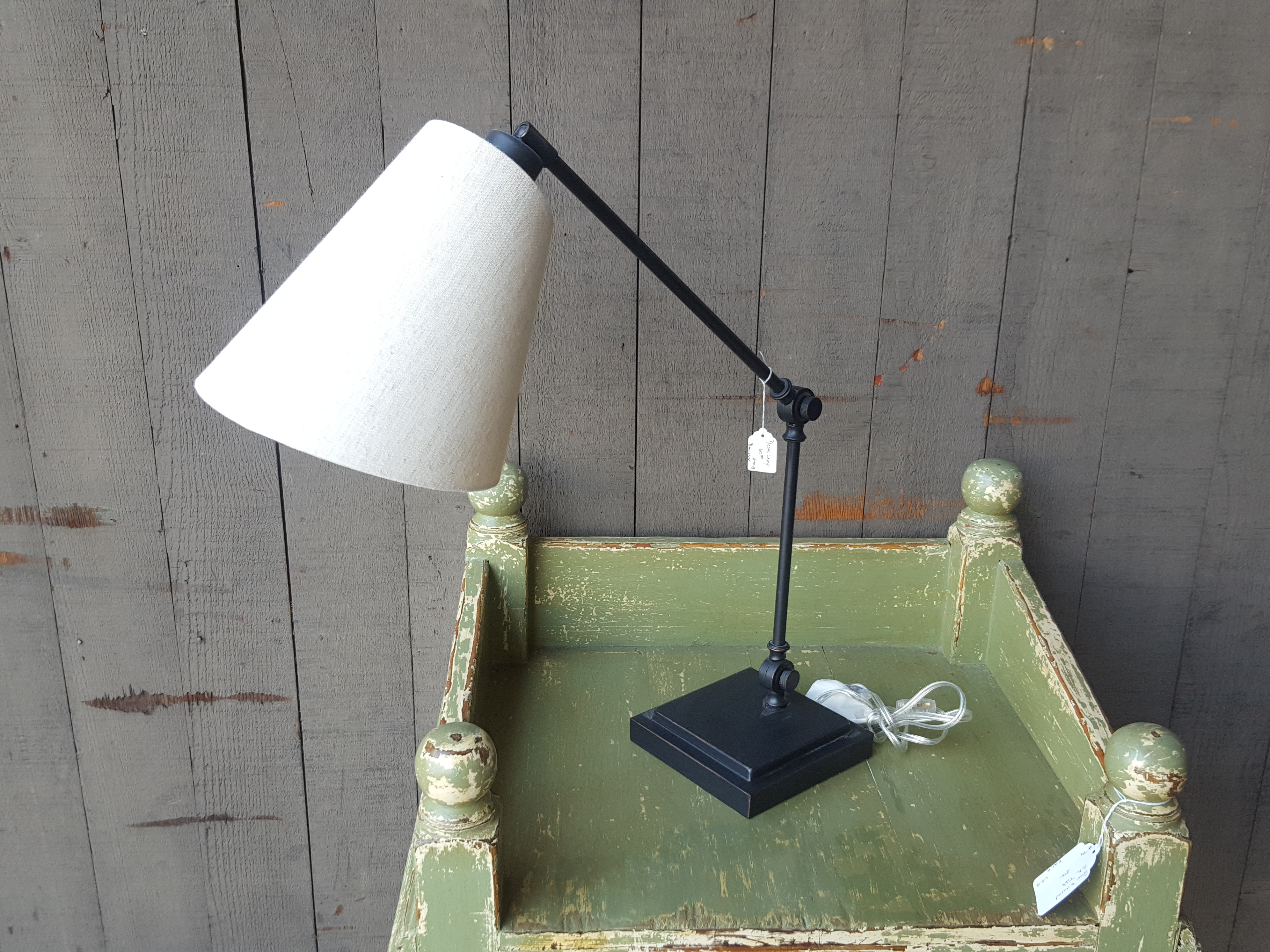 Great mid century style desk lamp with Lighting, Lamps Price: $50.00